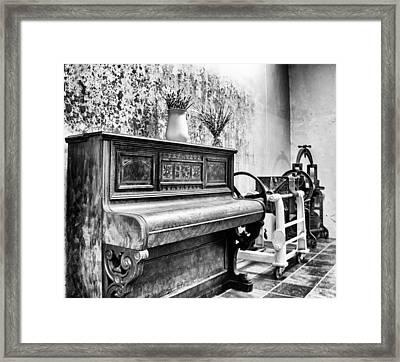 Piano Framed Print by Ben Osborne