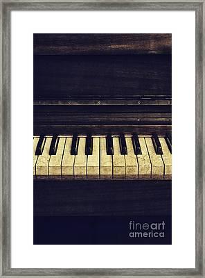 Piano Framed Print by Jelena Jovanovic