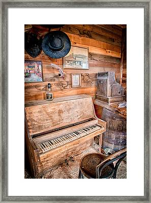 Piano Man Framed Print by Cat Connor