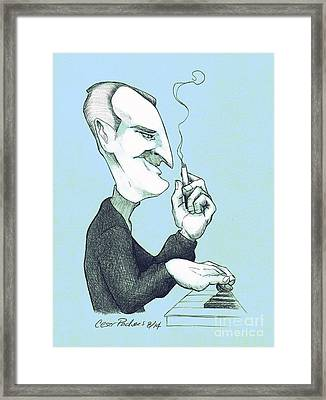 Piano Manny Framed Print by Cesar Pacheco