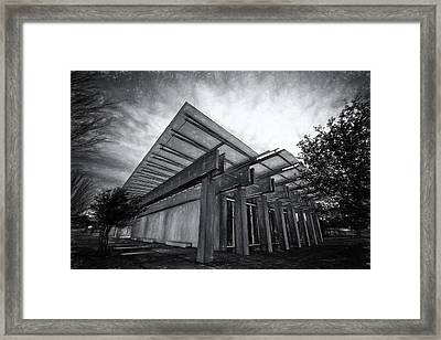 Piano Pavilion II Framed Print by Joan Carroll
