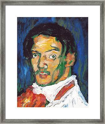 Picasso Framed Print by Tom Roderick