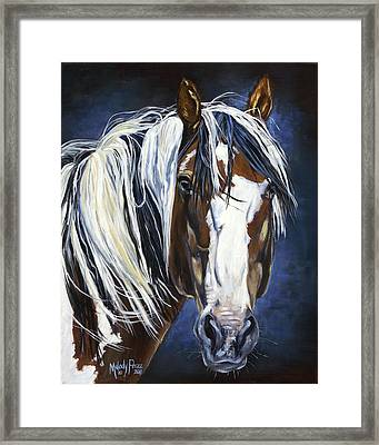 'picasso's Inspiration' Framed Print by Melody Perez