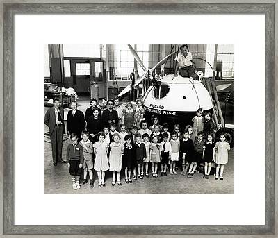 Piccard Stratosphere Flight Vessel Framed Print by American Philosophical Society
