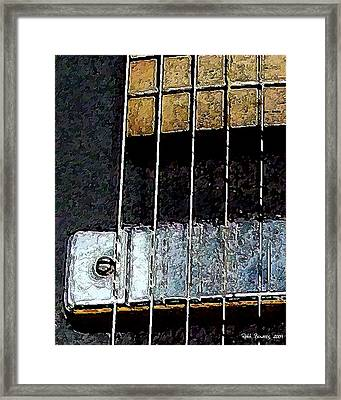 Pick Up Line Framed Print by Everett Bowers