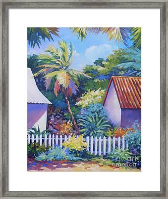 Picket Fence Framed Print by John Clark