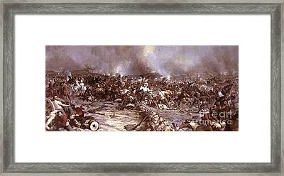 Picketts Charge - Gettysburg Framed Print by Pg Reproductions