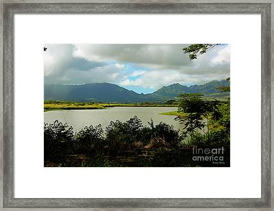 Picnic Spot Framed Print by Cheryl Young