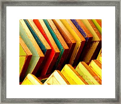 Picture Frames Framed Print by Ranjini Kandasamy