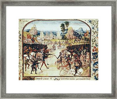 Picture Of The Chroniques By Jean Framed Print by Everett