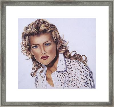 Picture Perfect Framed Print by Gael Graysen