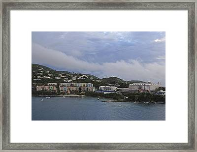 Picture Perfect Saint Thomas  Framed Print by Willie Harper