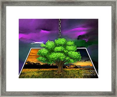 Picture This Framed Print by Marvin Blaine