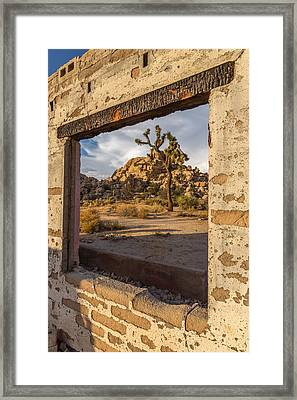 Picture Window Framed Print by Peter Tellone