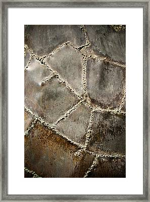 Pieces Framed Print by Colleen Kammerer