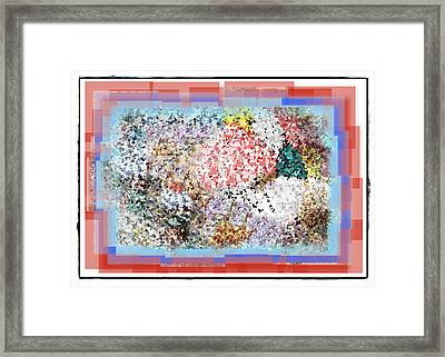 Pieces Of April Framed Print by Bill Cannon