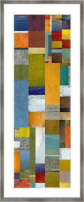 Pieces Parts Lv Framed Print by Michelle Calkins