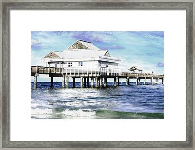 Pier 60 Framed Print by L Wright
