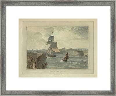 Pier At Littlehampton Framed Print by British Library