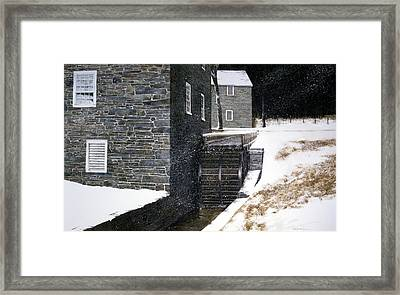 Pierce's Wheel Framed Print by Tom Wooldridge