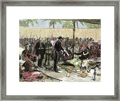 Pierre-paul Savorgnan De Brazza Framed Print by Prisma Archivo