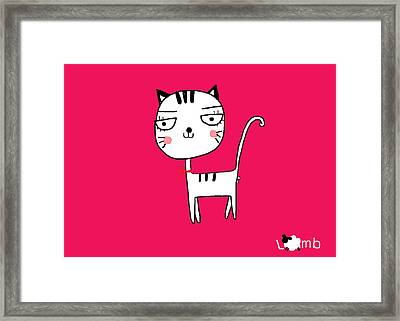 Pierre Framed Print by Watcharee Suebkhajorn