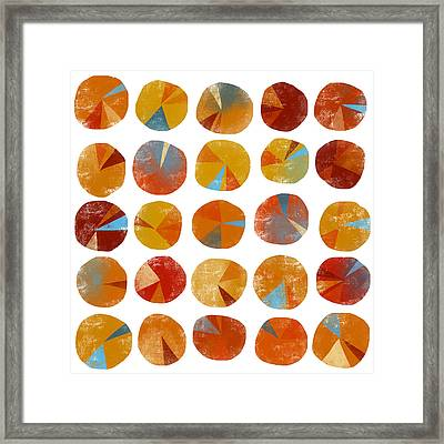 Pies Are Squared Framed Print by Nic Squirrell