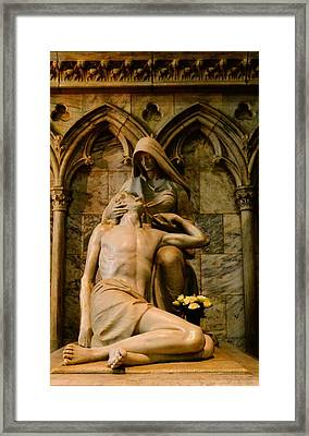 Pieta Framed Print by Dan Sproul