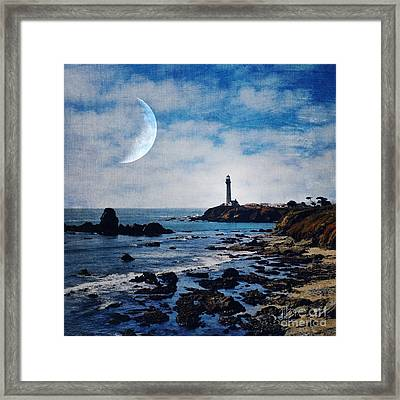 Pigeon Point Lighthouse Framed Print by Elena Nosyreva