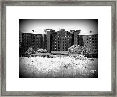 Pilgrim State Psychiatric Hospital Framed Print by Ed Weidman