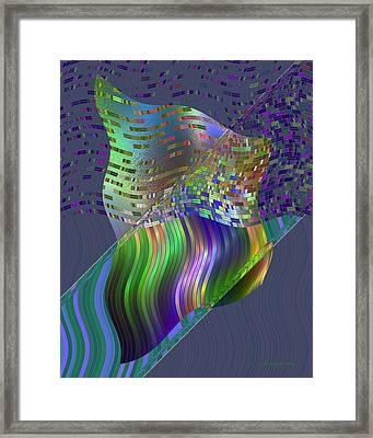 Pillowing Framed Print by Judi Suni Hall