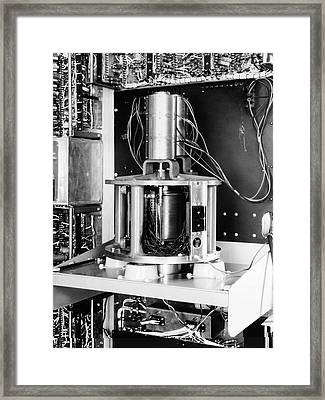 Pilot Ace Computer Components, 1954 Framed Print by Science Photo Library