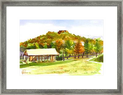Pilot Knob Mountain 2 Framed Print by Kip DeVore