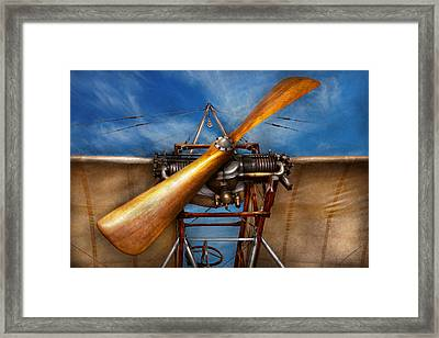 Pilot - Prop - They Don't Build Them Like This Anymore Framed Print by Mike Savad