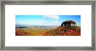 Pilot Valley Framed Print by Kelvin Booker