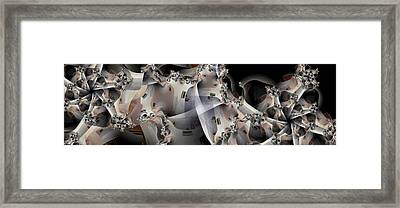 Pin Wheels Framed Print by Ron Bissett