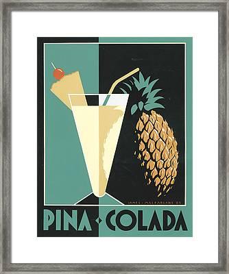 Pina Colada Framed Print by Brian James