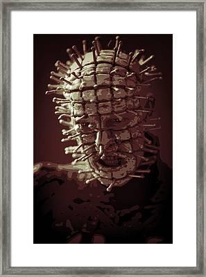 Pinhead Hellraiser Framed Print by Jonathan Davison