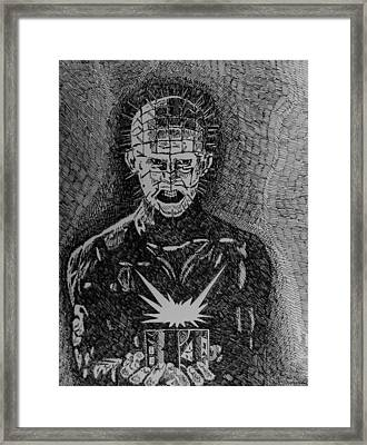 Pinhead Framed Print by Jeremy Moore