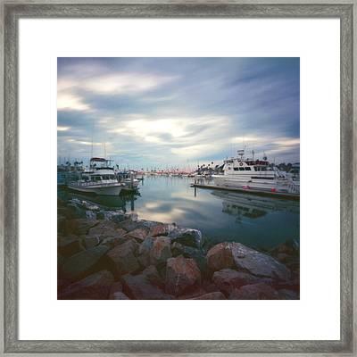 Pinhole Oceanside Harbor Framed Print by Hugh Smith