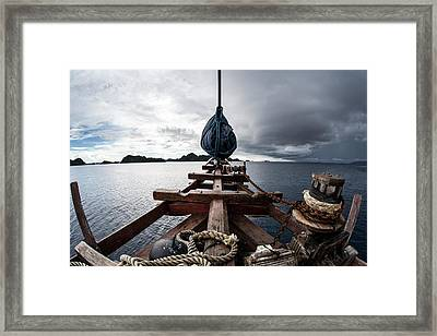 Pinisi Schooner Framed Print by Ethan Daniels