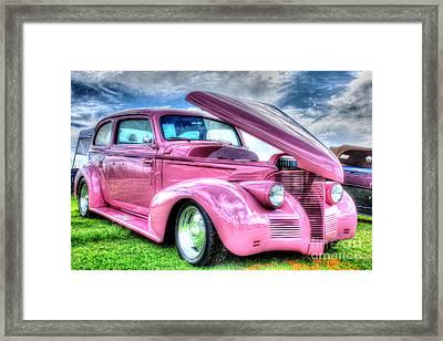 Pink 39 Framed Print by Linda Arnado