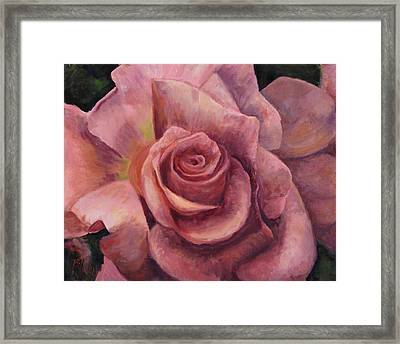 Pink Bloom Framed Print by Billie Colson