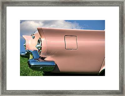 Pink Fins Framed Print by Bill Cannon