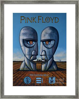 Pink Floyd - The Division Bell Framed Print by Paul Meijering