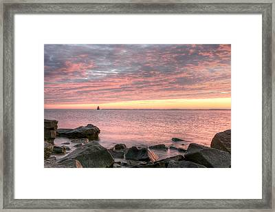 Pink Morning Framed Print by JC Findley
