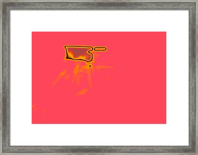 Pink N' Framed Print by Shaun Shafer