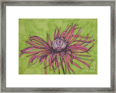 Pink Rhapsody Framed Print by Marcia Weller-Wenbert
