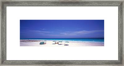 Pink Sand Beach, Harbour Island, Bahamas Framed Print by Panoramic Images