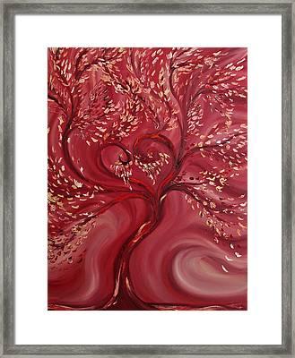 Pink Splendor Framed Print by Felix Concepcion
